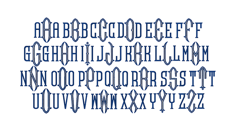 Victorian Monogram 2 Cosellie